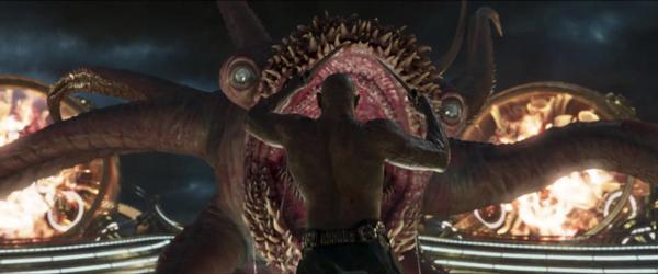 Sức mạnh của Drax bị giảm đi đáng kể