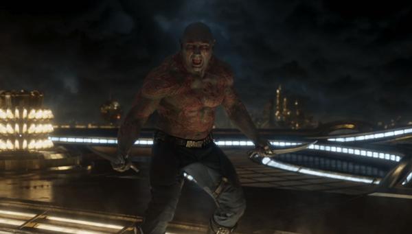 Drax - cây tấu hài chính của phim