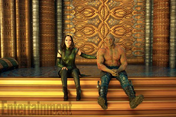 Drax và Mantis