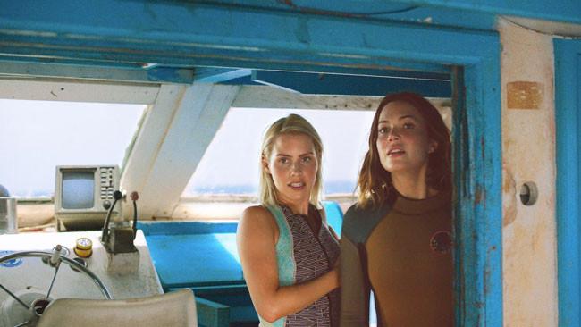 hai diễn viên chính của Hung Thần Đại Dương