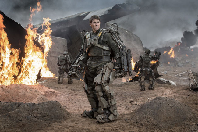 Tom Cruise trong Edge of Tomorrow