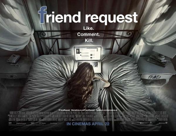 Friend Request là bộ phim kinh dị lấy cảm hứng từ Facebook