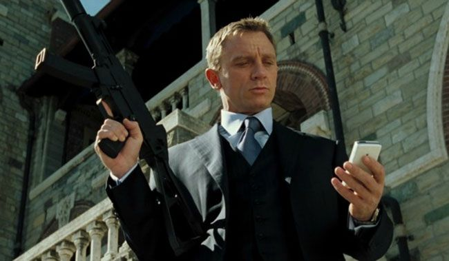 Điệp viên 007 là bộ phim tạo nên tên tuổi của Daniel Craig