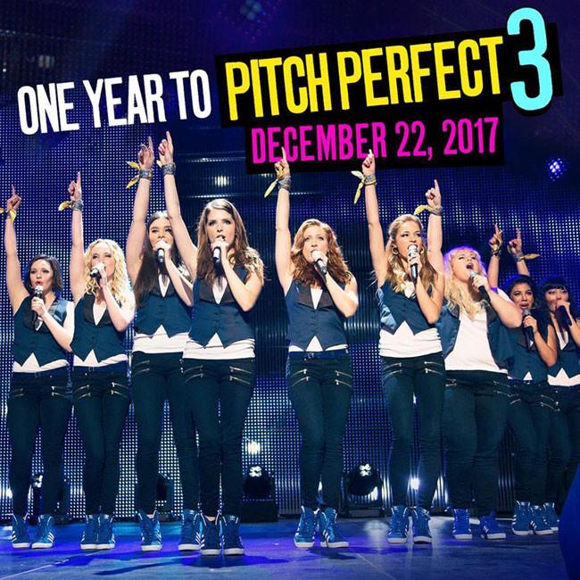 Pitch Perfect 3 dự kiến được ra rạp cuối năm 2017
