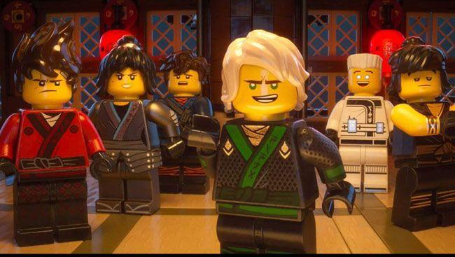 The Lego Ninjago Movie dự kiến được khởi chiếu vào tháng 9 tới