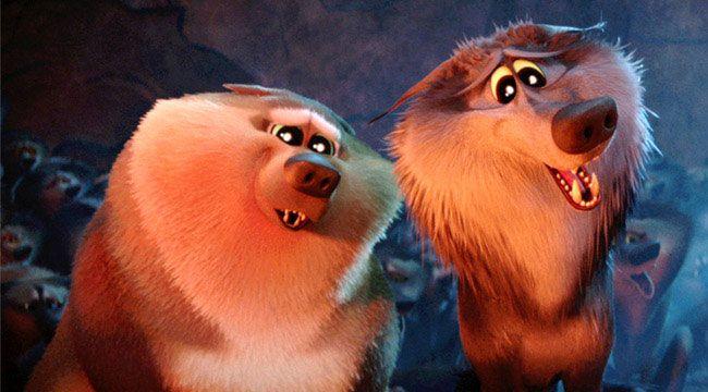 Hai chú sói này chính là hình ảnh đẹp nhất trong phim Storks