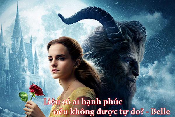 Nàng Bella xinh đẹp trong Beauty and the Beast
