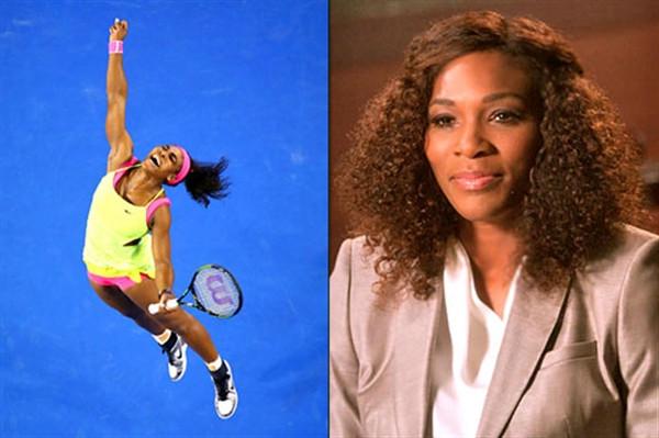 Tay vợt nổi tiếng thế giới Serena Williams đóng phim