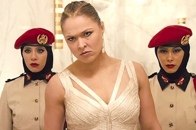 Ronda Rousey trong Fast 6
