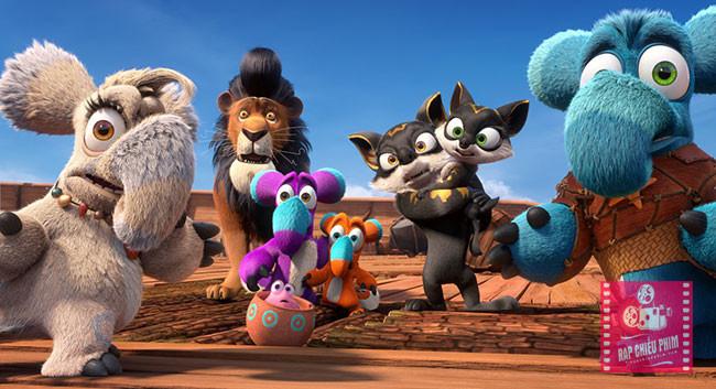 Các nhân vật trong phim vô cùng dễ thương và thú vị
