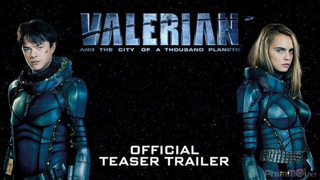 Poster phim Valerian và thành phố ngàn sao