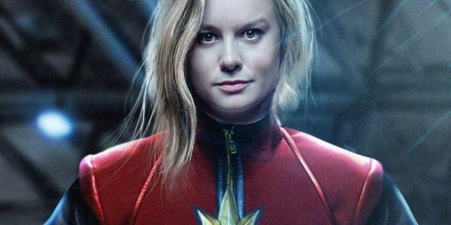 Nữ diễn viên Brie Larson trong vai Captain Marvel