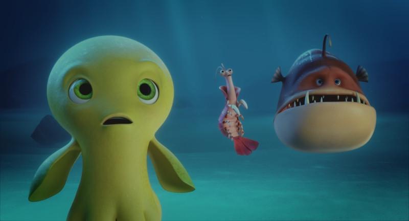 Bộ phim là cuộc phiêu lưu của Deep và những người bạn