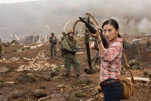 Nữ diễn viên Cảnh Điềm trong Kong: Skull Island