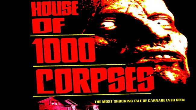 Bộ phim kinh dị House of 1000 Corpses