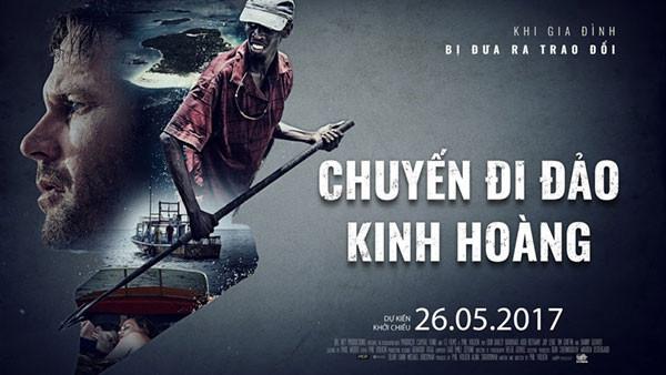 Chuyến đi đảo kinh hoàng đang được chiếu tại các rạp chiếu phim trên toàn quốc