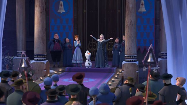 Chuyến phiêu lưu của Olaf là hành trình đi tìm truyền thống gia đình dịp lễ giáng sinh