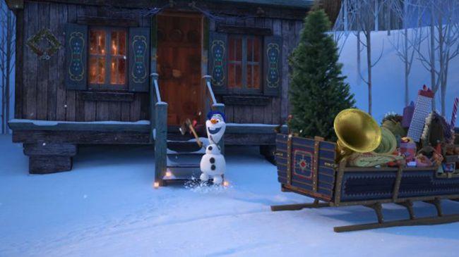 Olaf đã gõ cửa khắp các gia đình trong vương quốc