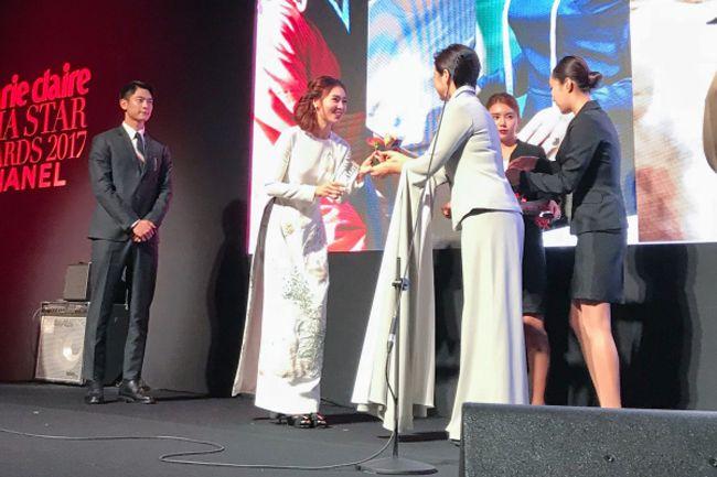 Ninh Dương Lan Ngọc đạt danh hiệu Gương mặt châu Á