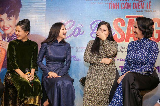 Họp báo ra mắt phim Cô Ba Sài Gòn