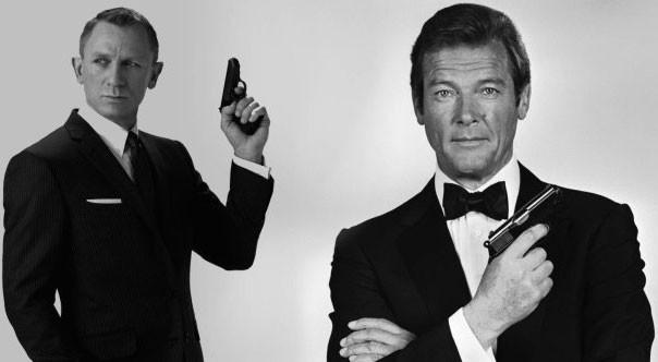 James Bond của Roger Moore luôn thong dong mà quyết đoán