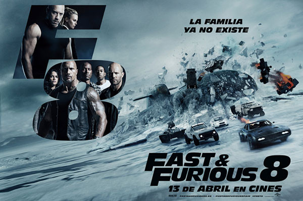 Fast & Furious 8 vượt ngưỡng 1,5 tỷ USD sau hơn 3 tuần công chiếu