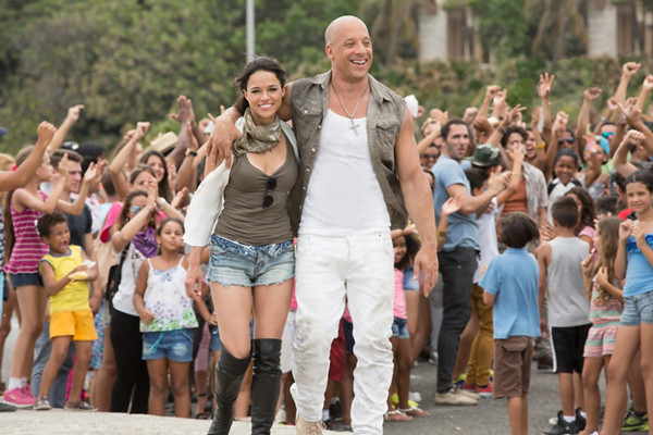 Michelle Rodriguez đảm nhiệm vai Letty trong Fast & Furious