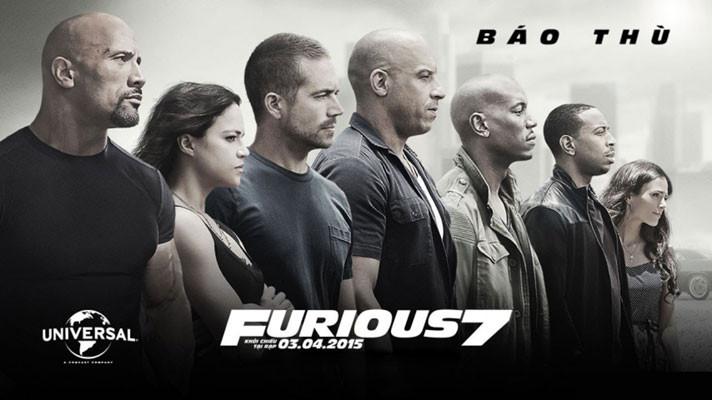 Fast 7 là phần vinh danh tài tử Paul Walker