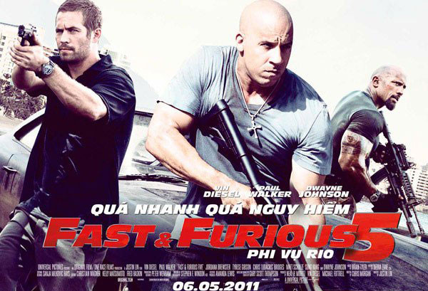 Fast Five được đánh giá là phần có nội dung hấp dẫn nhất