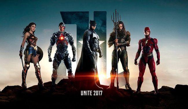 Justice League chính thức được công chiếu ngày 16/11