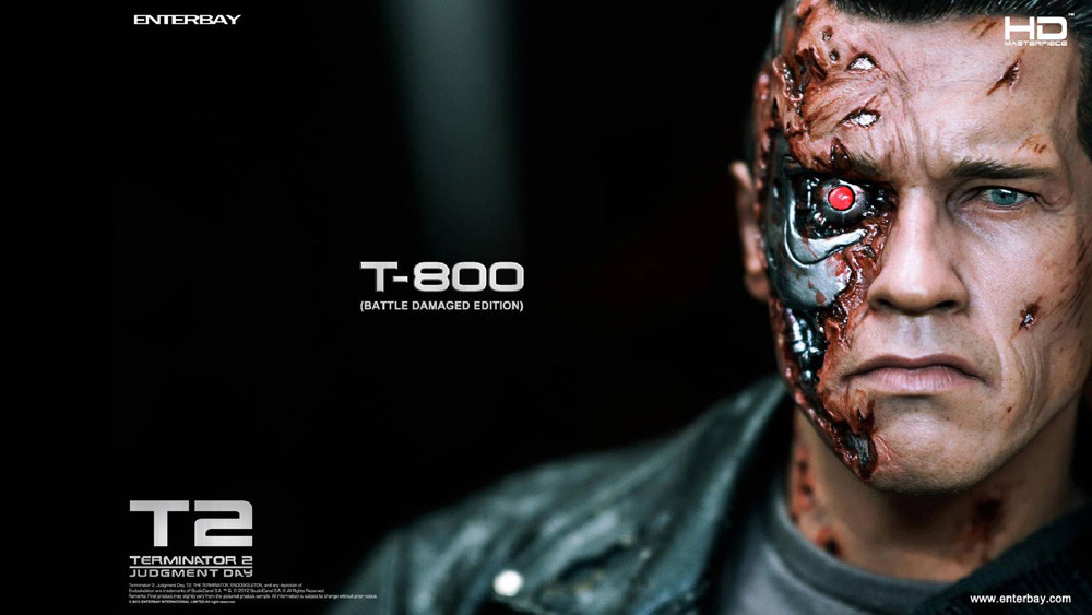 Kẻ hủy diệt - người máy T - 800