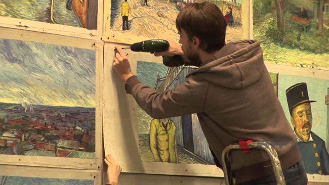 Bộ phim đã sử dụng hơn 65000 bức tranh sơn dầu được vẽ bằng tay