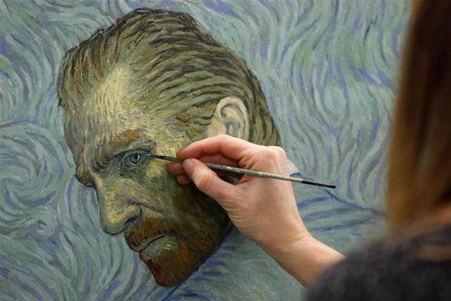 Loving Vincent gây ấn tượng bởi là bộ phim được dựng từ tranh sơn dầu