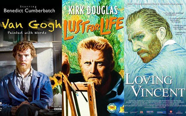 Rất nhiều tác phẩm về danh họa Vincent Van Gogh đã được ra đời