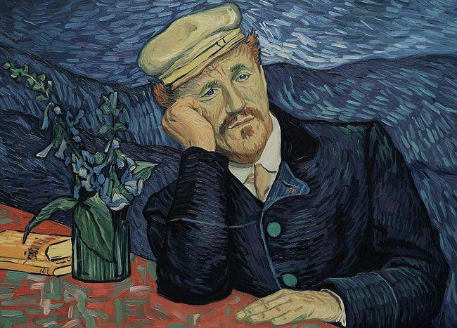 Bộ phim được dàn dựng từ những tác phẩm của Van Gogh