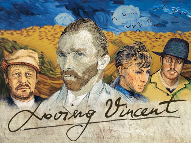 Loving Vincent là bộ phim về cuộc đời của danh họa Vincent Van Gogh