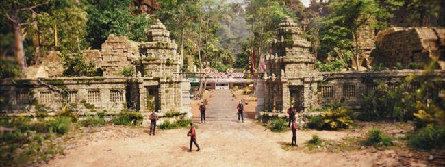 Lý do là vì bối cảnh trong phim giống một di sản thế giới tại Campuchia