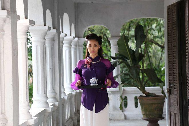 Mẹ chồng tôn vinh tà áo bà ba của người Nam Bộ