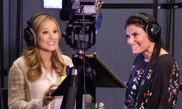 Diên viên Kristen Bell và Idina Menzel lồng tiếng cho Elsa và Anna