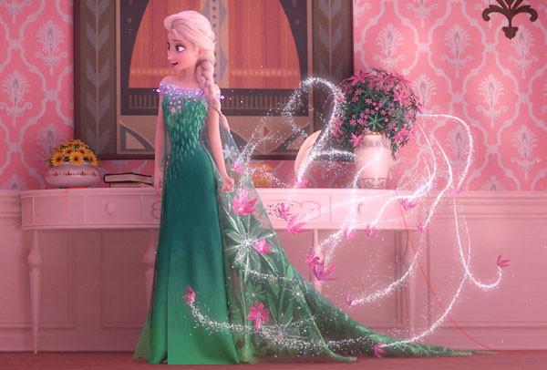 Bộ váy mới của nàng công chúa Elsa