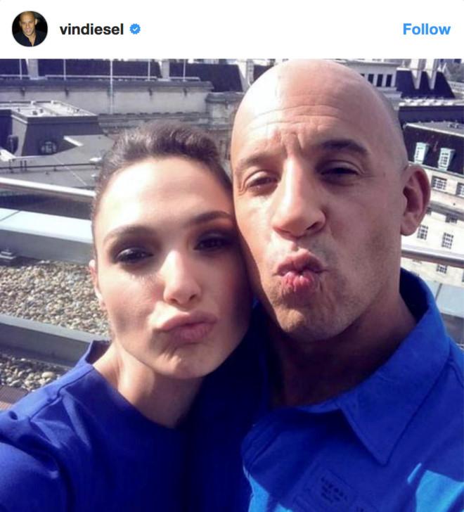 Vin Diesel gửi lời chúc mừng đến Gal Gadot