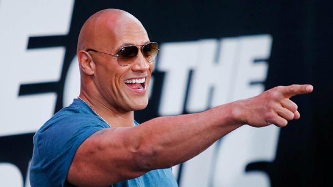 Nam diễn viên The Rock có tên trong danh sách diễn viên được mời tham gia bộ phim
