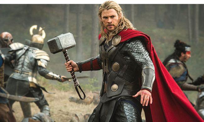 Chris Hemsworth đã phải tập luyện rất nghiêm túc trước khi tham gia bộ phim