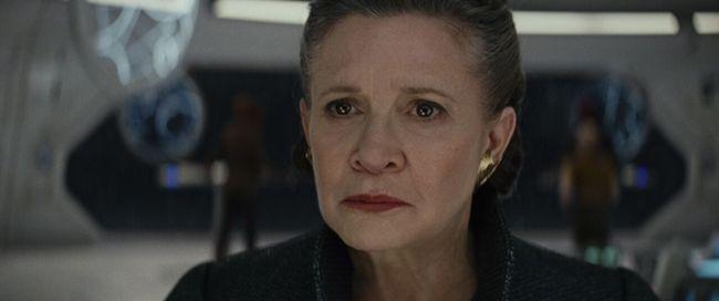 Carrie Fissher trong vai công chúa Leia Organa