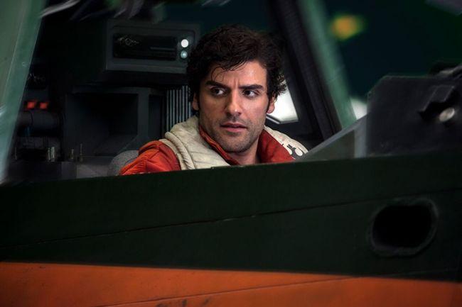 Oscar Issac trong vai Poe Dameron