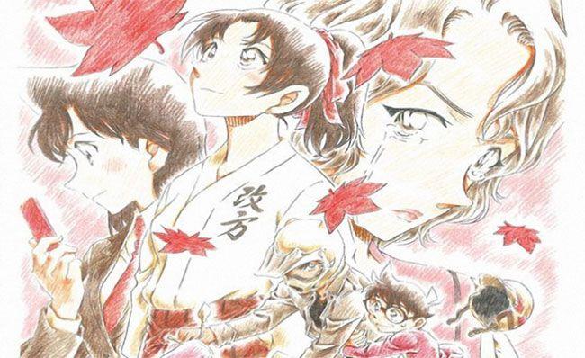 Thám tử lừng danh Conan: Bản tình ca màu đỏ thẫm là tập phim lãng mạn nhất trong series