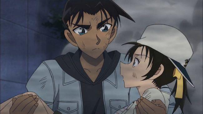 Bộ phim là câu chuyện tình lãng mạn của Heiji - Kazuha