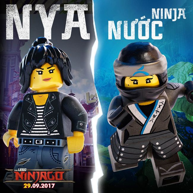 Nya - ninja nữ duy nhất trong nhóm