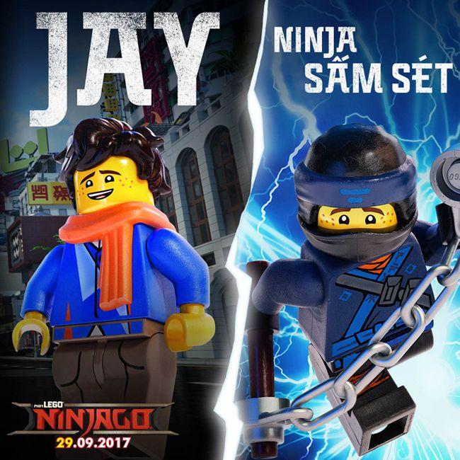 Ninja sấm sét vô cùng tinh tế