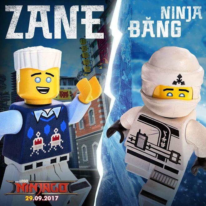 Zane - ninja băng